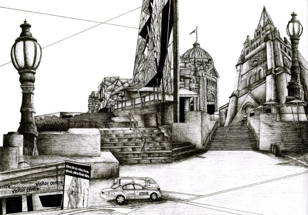 Architecture Drawing | Melbourne