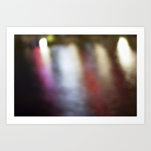 Light Art   Melbourne city (Yarra River- Water Movement)