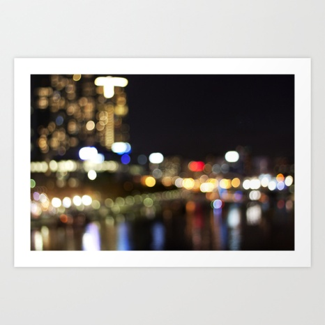 Light Art | Melbourne city (Yarra River)