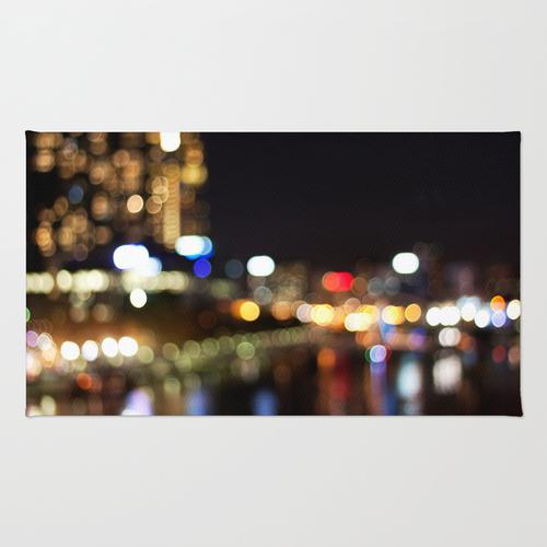 Light Art   Melbourne city (Yarra River)